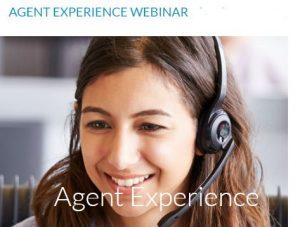 Agent Experience webinar