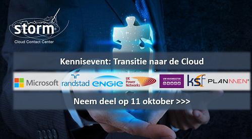 Kennisevent Transitie naar de Cloud