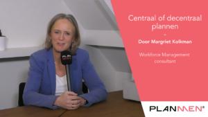 centraal of decentraal plannen