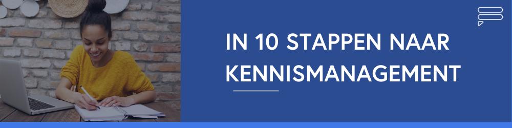 in-10-stappen-kennismanagement