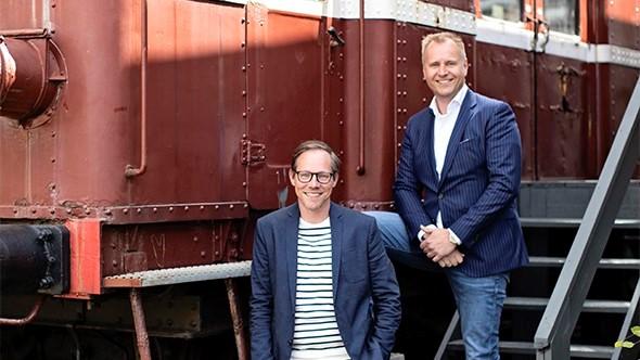 Mark Hekkelman, CEO Salesdock en Daniël Cools, CCO Codelogic