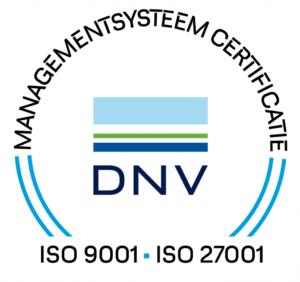 VANAD Engage ISO certificering